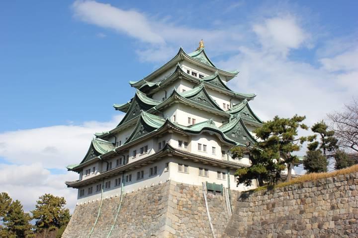 広大な名古屋城
