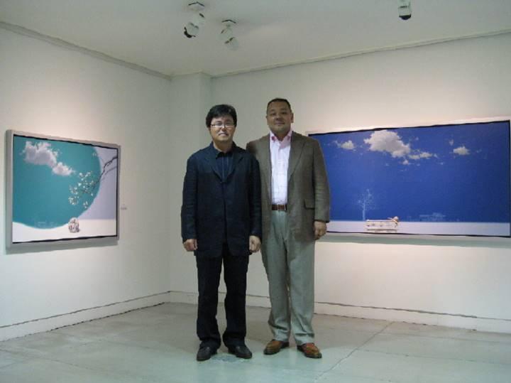 キムソングン先生と藤村社長のツーショット