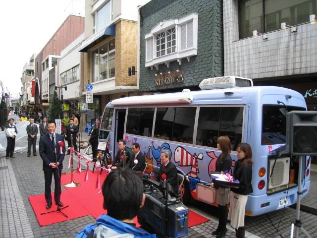 中田市長が挨拶をしています。