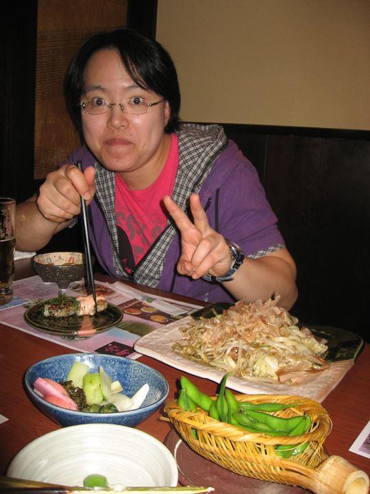 初めて一緒にご飯食べましたね