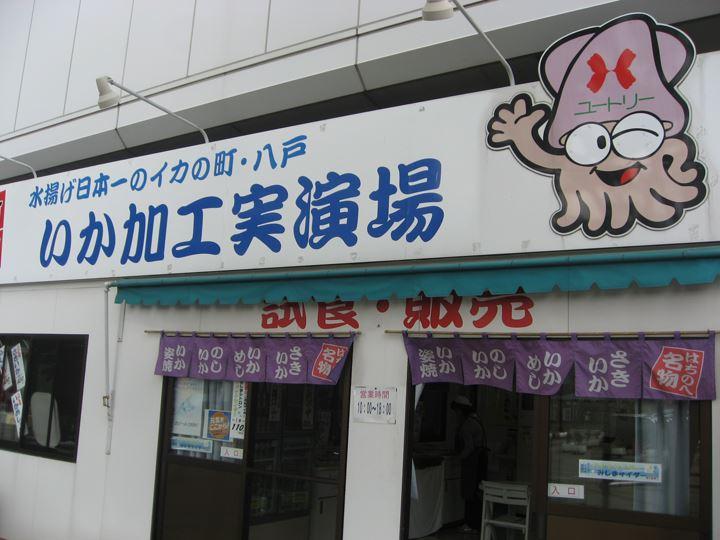 八戸はイカが有名なんです。