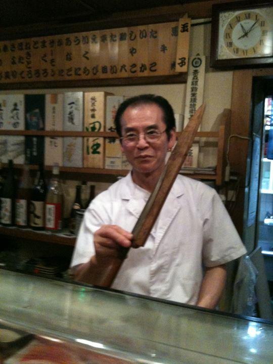 行きつけのお寿司屋さん「松すし」