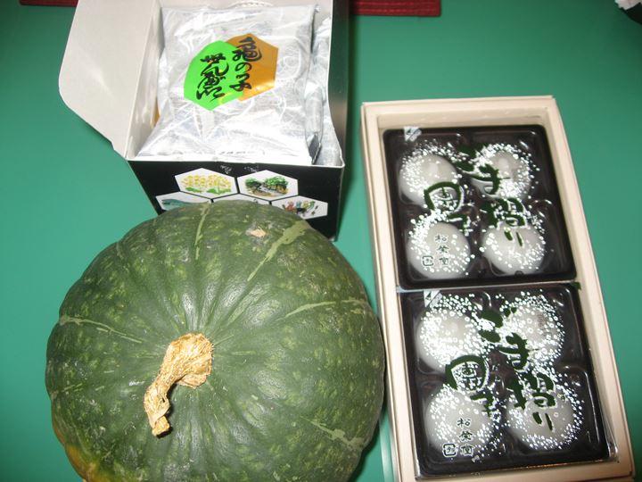 岩手のお菓子とかぼちゃ(^v^)