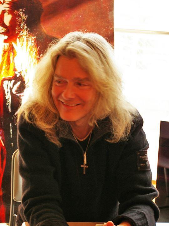 2010年1月のイベント時のウレ画伯
