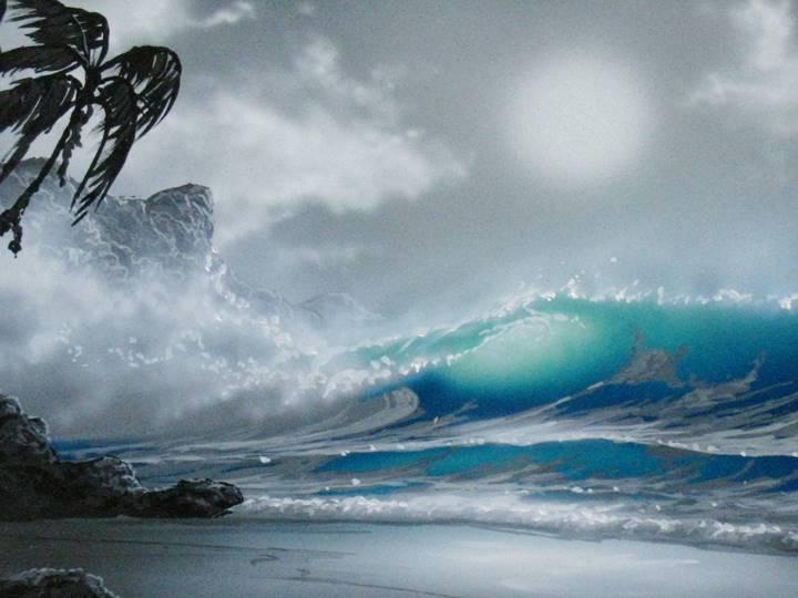 「HAWAII」 G. Welty