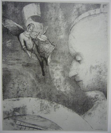 天上の芸術 1894年 リトグラフ、紙