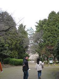 初の!!名古屋城に突入!!