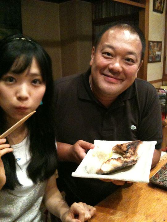 夕食は、勿論お魚・・・(●^o^●)+