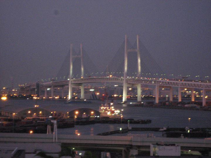 ★港の見える丘公園からの夕景★