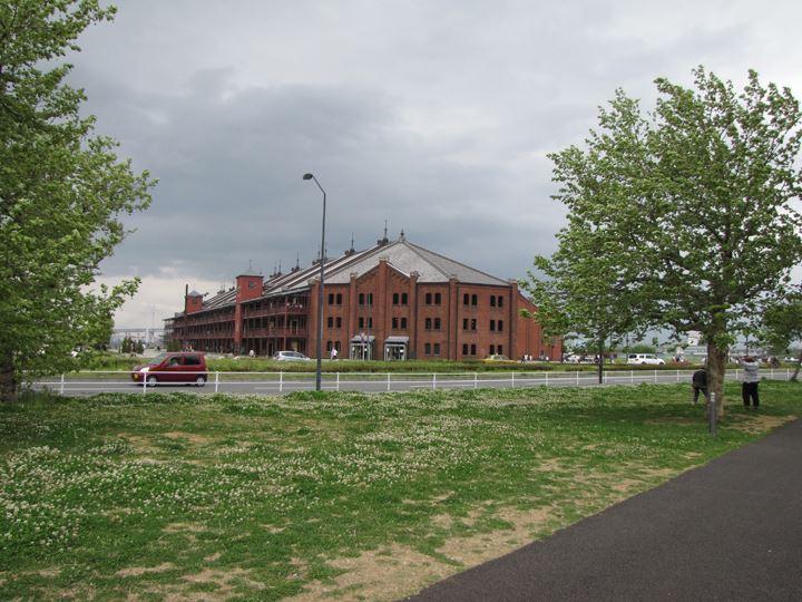 歴史ある赤レンガ倉庫