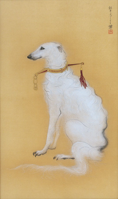 「盲犬図」