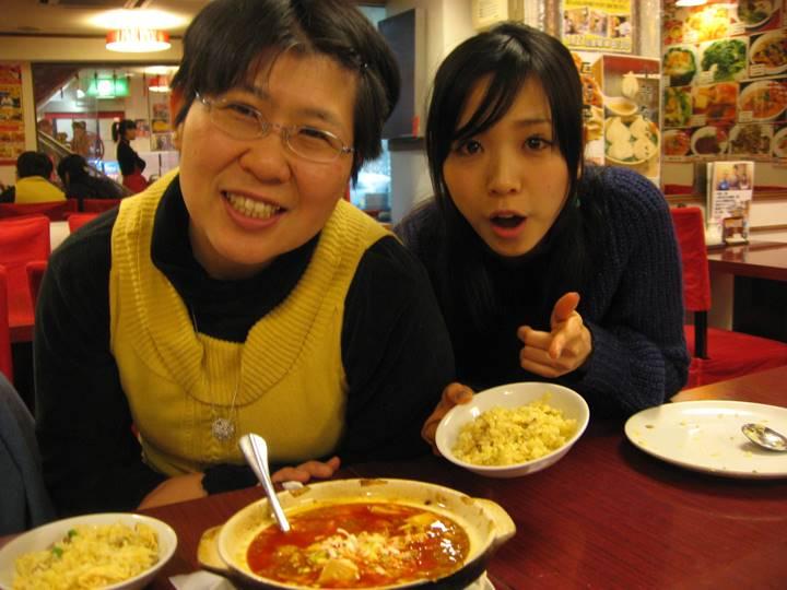 中華街での夕食!