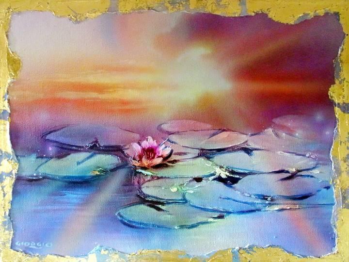 「a lotus flower」 ネイト・ジョルジオ