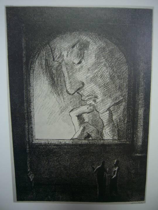 光 1893年 リトグラフ、紙