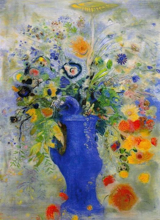 「グラン・ブーケ〈大きな花束〉」 1901年4月 パステル/カンヴァス