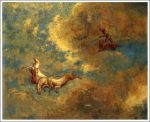 アポロンの戦車 1906-07年頃 油彩画布