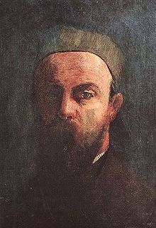 『自画像』 1880年 オルセー美術館蔵