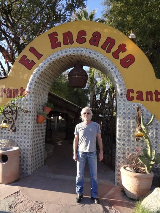 スティーヴ行きつけのメキシコ料理店です。