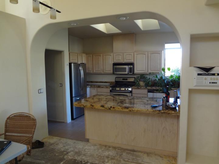 整理整頓されたキッチン。
