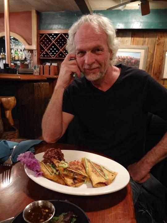スティーヴの好物、タコス。週に3回は食べてるそうです。