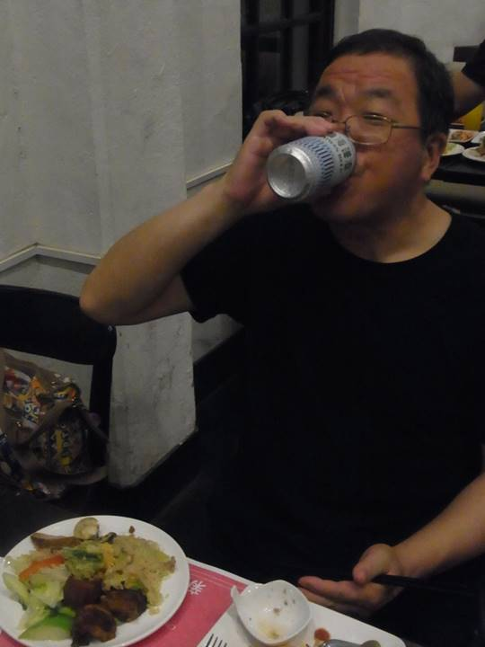 台湾のビールはおいしいね!