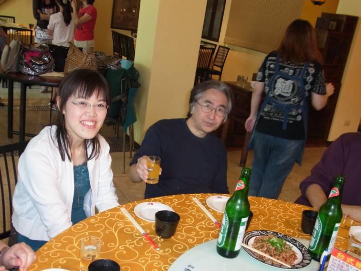 笑顔の素敵なHISANOさん。