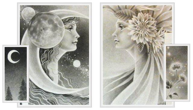 「月と花」