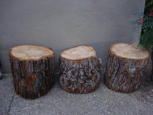 作品となる木材