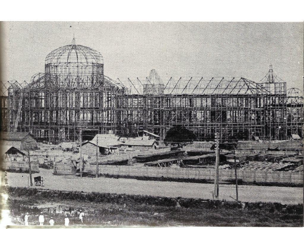 東京駅建設当時