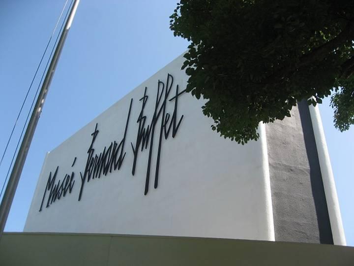 ビュッフェ美術館の外観