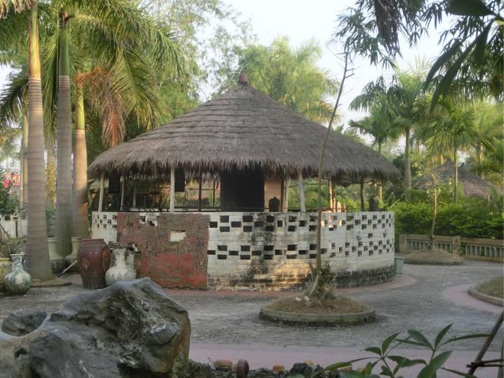 バッチャン村の風景