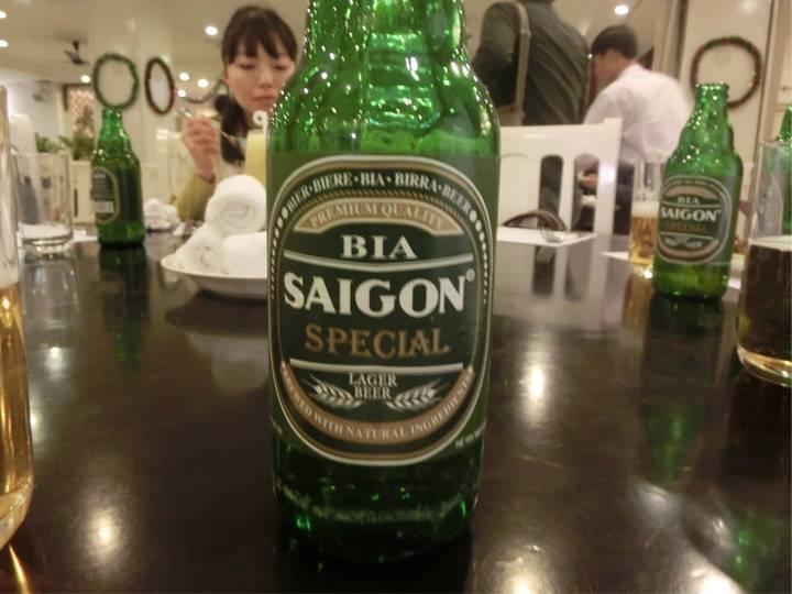 サイゴンビールで乾杯!