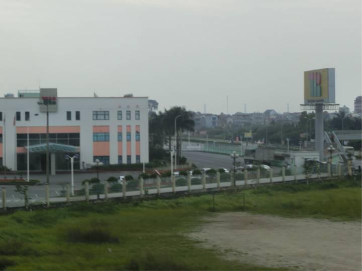 ハノイ郊外の街並