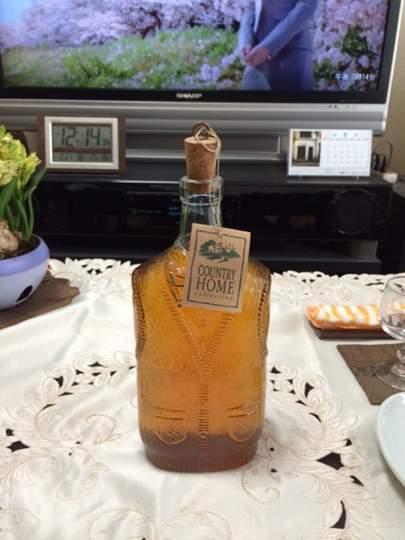 熟成された手作り梅酒です!