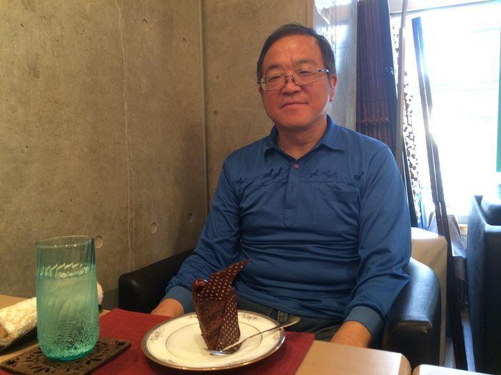 チョコレートケーキと