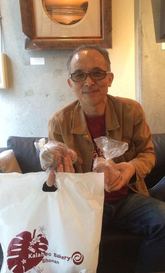 SHINJIさま&本日のオメザ(パン)