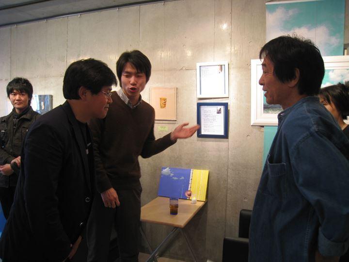 2008年来日展にて