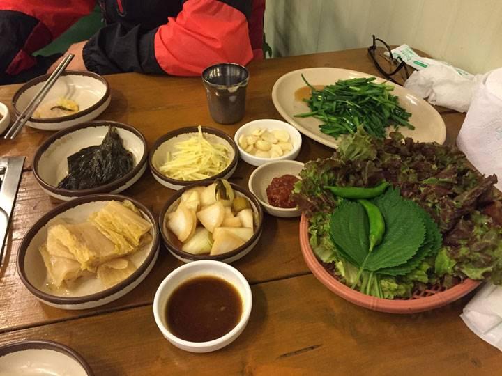 韓国料理は野菜がいっぱい!