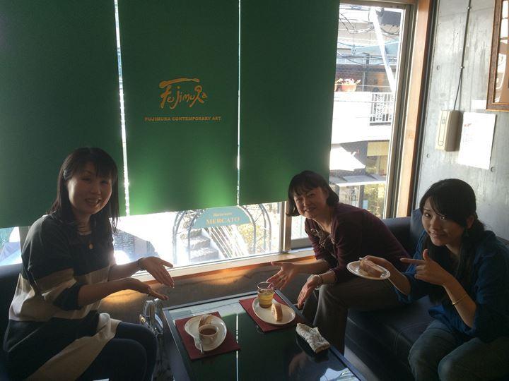 TEA TIME楽しんでます!
