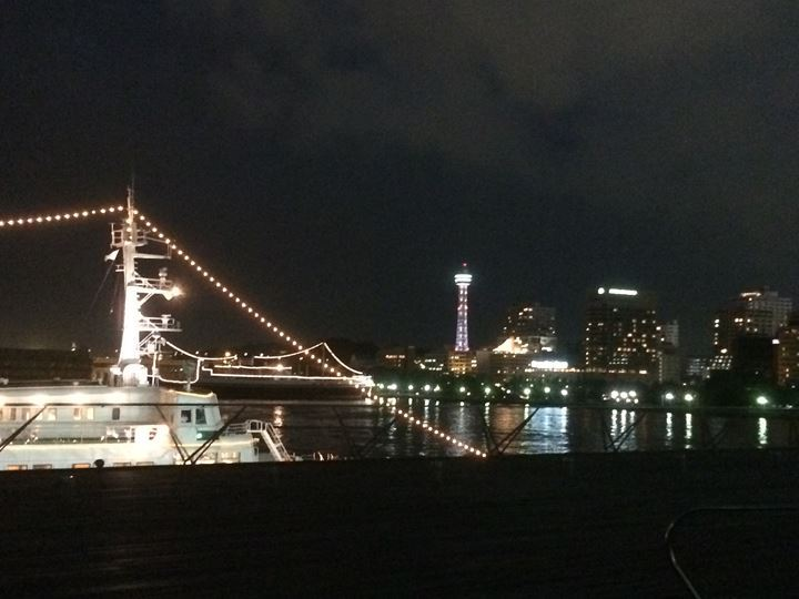 大さん橋からの夜景