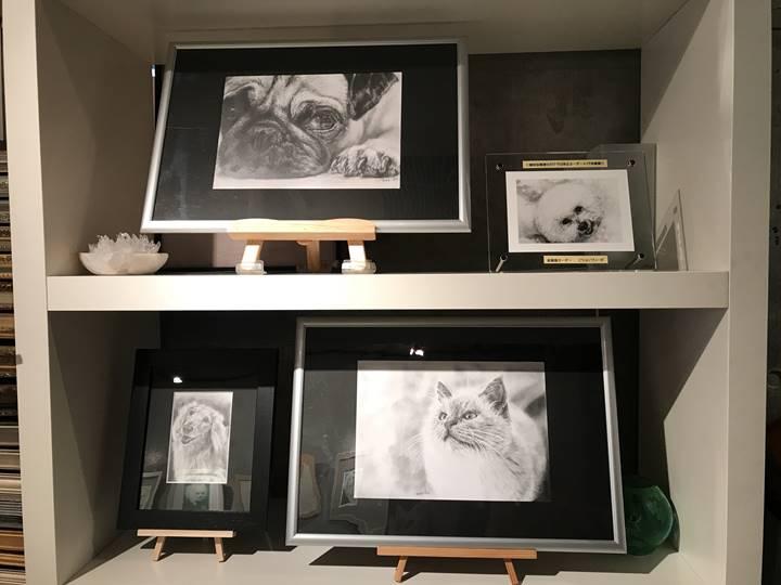 「ペット肖像画 受注会2018」開催中のギャラリー