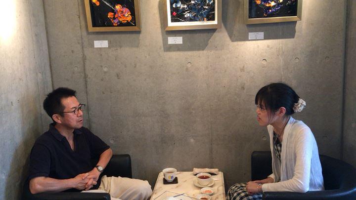 フジムラコンテンポラリーアートのK. Ashino展の様子