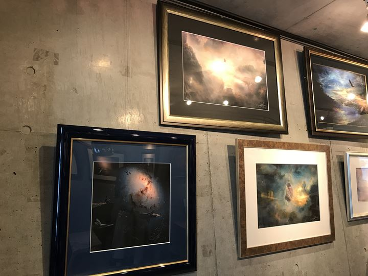 ギャラリー内展示写真 Ule W.Ritgen『最新作発表展 2018』