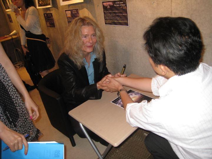 ウレ・リトゲン来日展写真 2009年