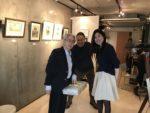 フジムラコンテンポラリーアートの企画展の様子