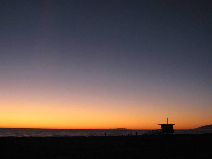 アメリカロサンゼルスの海岸写真