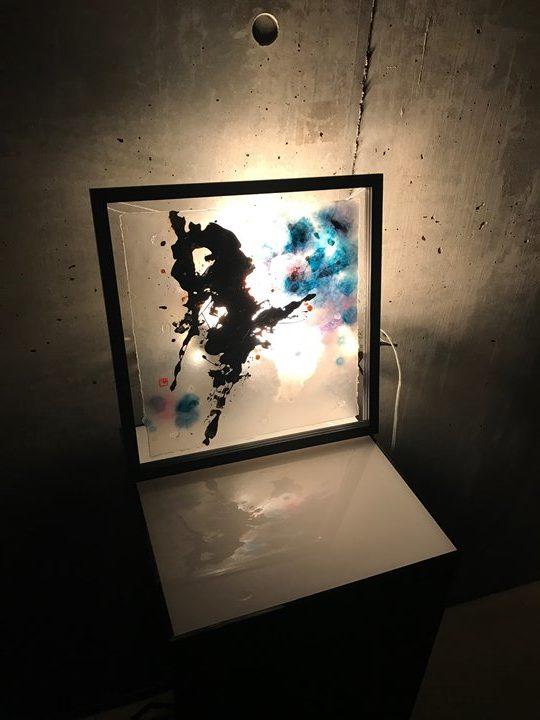 K.Ashino先生のアート作品写真