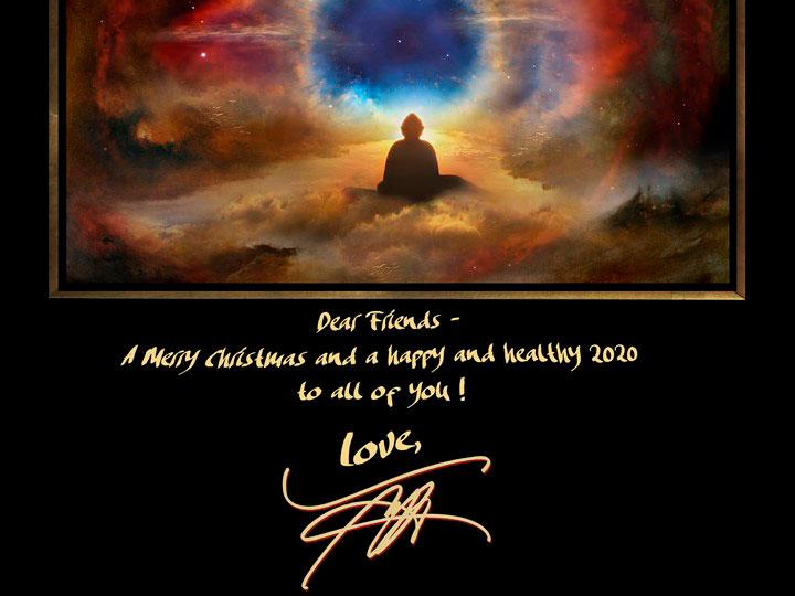 ウレ・リトゲン画伯からのクリスマスカード画像