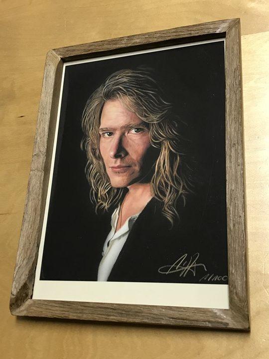 """ウレ・リトゲン2019年特別作品""""Ule W. Ritgen - Self Portrait""""写真"""