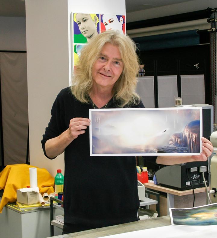 ウレリトゲン画伯の写真